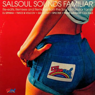 Salsoul Sounds Familiar vinyl 1 record red cover side A