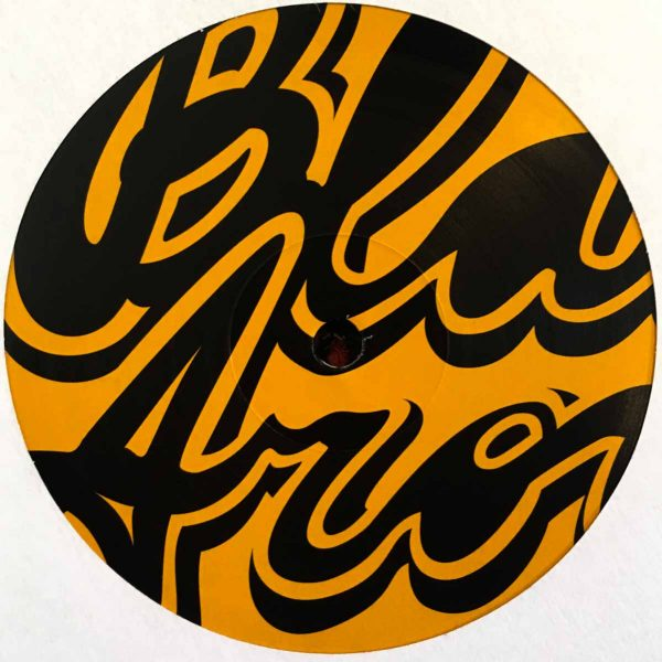 Black Aroma EP Vol. 3 Side B Edits by Twice Blend It! Records orange cover