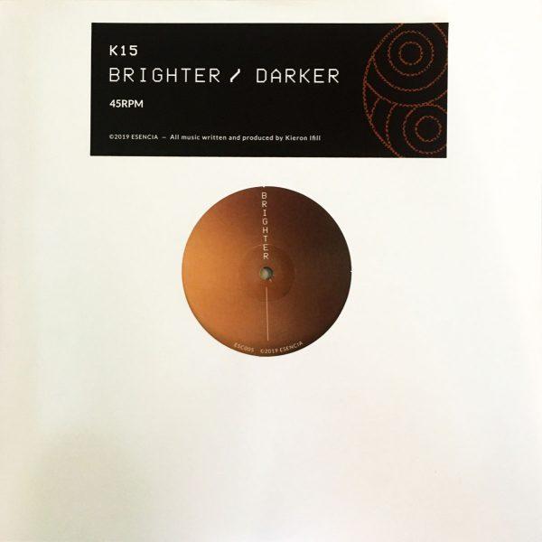 k15 brighter darker vinyl record album cover side A