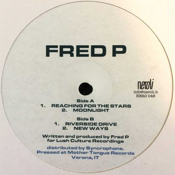 Fred P reaching for the stars vinyl record white cover side A