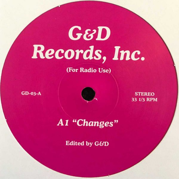 G&D edit 3 vinyl record changes pink cover side A