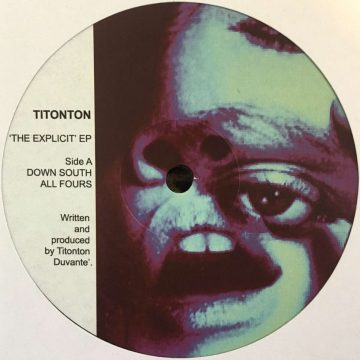 Titonton Duvanté the explicit ep vinyl record cover side A