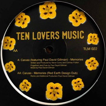 ten lovers music memories caruso feat paul david gillman vinyl record side B