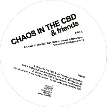 Chaos in the CBD emotional Intelligence Vinyl Record cover side A