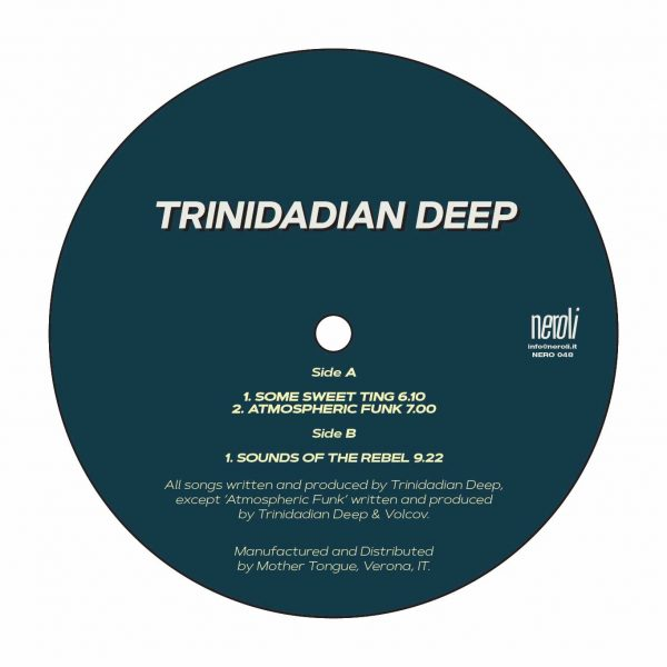 Trinidadian Deep vinyl record some sweet ting album cover side A