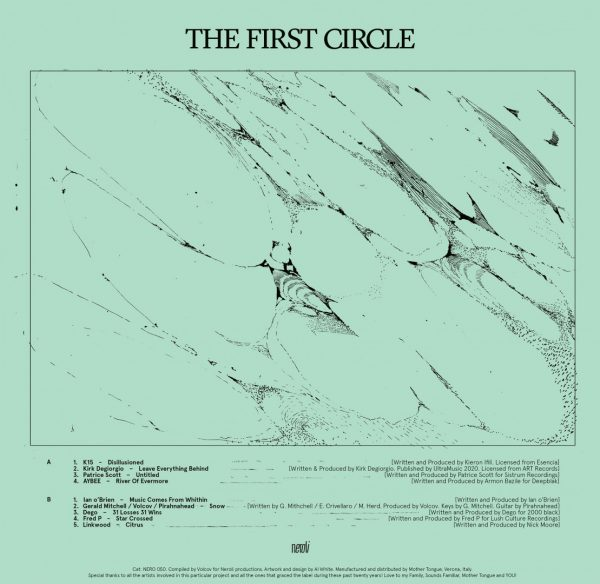 Side B of the album the first circle LP by Dego, Fred P, Gerald Mitchell and others artists