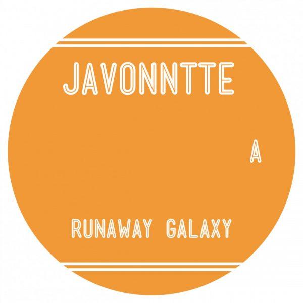 orange side A of the Javonntte's LP album runaway galaxy from ten lovers music