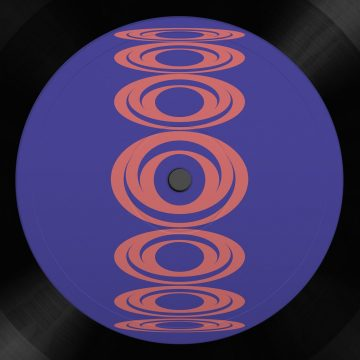 the evolutions phase 2 vinyl record purple back cover with liberate and bass reeves tracks