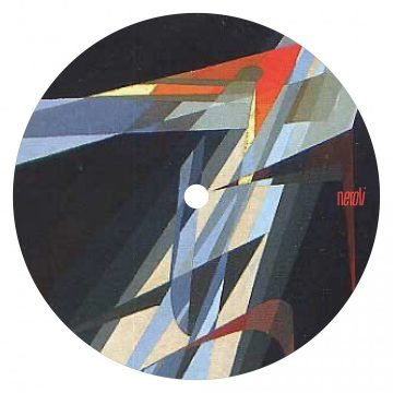 side b of the DEENAMIC's EP vinyl record debut for neroli label with the bitter truth and dayride tracks
