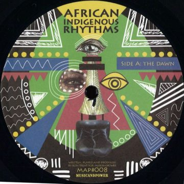 """""""The Dawn"""" on the side A of the Ron Trent's vinyl record African Indigenous Rhythms"""