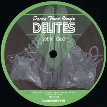 """""""Touch"""" on the side A of the Ron Trent's vinyl record Dance Floor Boogie Delities"""