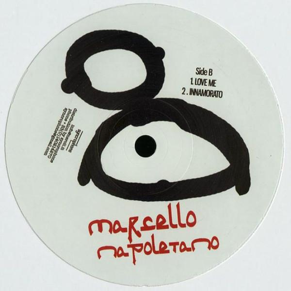 """Marcello Napoletano The Neroli EP vinyl record white cover Side B 12"""""""