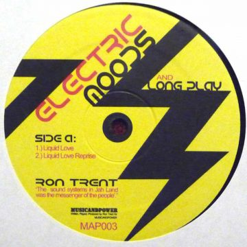 ron trent house and electronic music vinyl electric moods and long play side A
