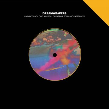 """black side A of the 7"""" version extract from Dreamweavers vinyl record"""