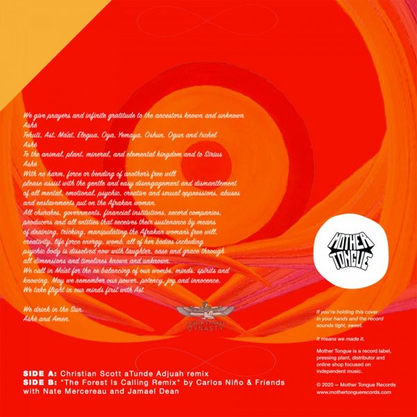 back cover of sexy suzy on a sunday vinyl record with the tracklist, Soul, Hip Hop and RnB music vinyl