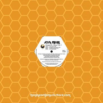 Josh Milan Shapes & Colors Vol.1 vinyl record orange cover side a