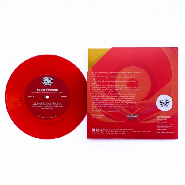 """side b of the 7"""" limited edition sexy suzy on a sunday. Soul, Hip Hop and RnB music vinyl"""