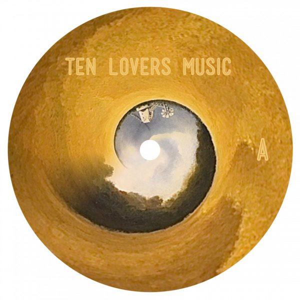 Paul David Gillman pres. Red Earth Design in Secret Garden first vinyl record front cover
