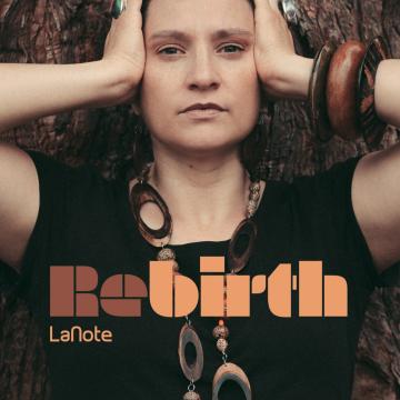"""LaNote rebirth lp 12"""" vinyl record front cover side a futuristica music label"""