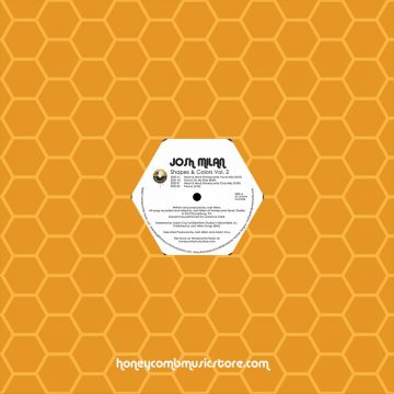 josh milan shapes and color vol.2 vinyl record front cover side a honeycomb music