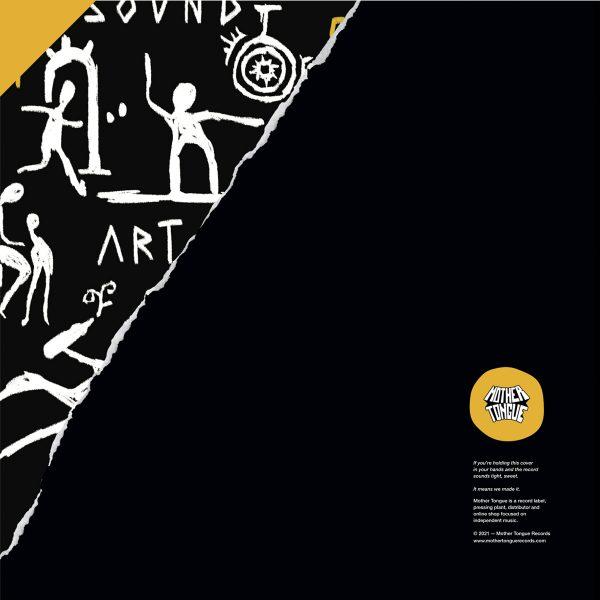 back cover side b of edb's true stories ep vinyl record
