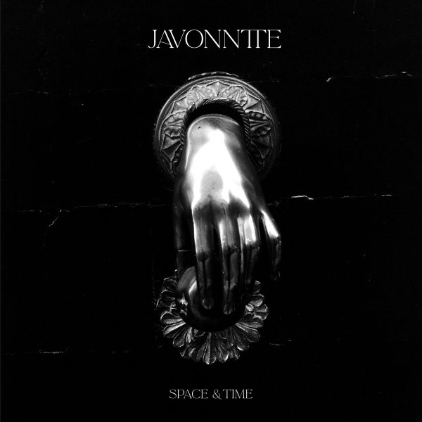 side a front cover of space and time ep vinyl record by javonntte