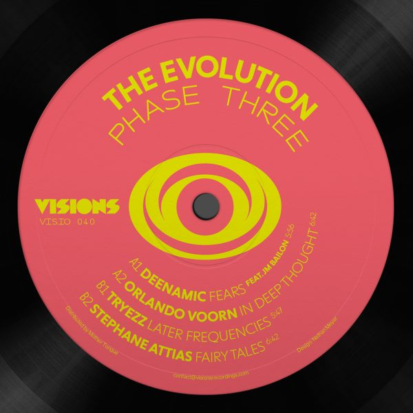 the evution phase three visions recordings