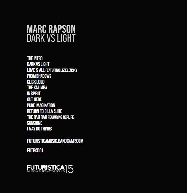 Marc Rapson Darks vs Light