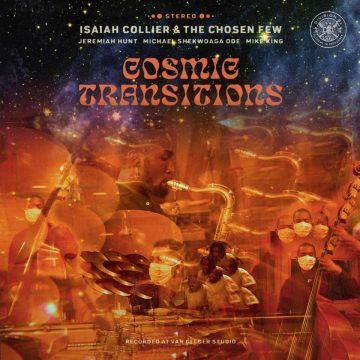 isaiah collier cosmic transition vinyl record feat. the chosen few jazz nu jazz music