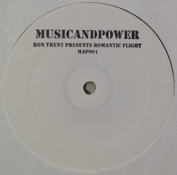 """ron trent romantic flight 12"""" vinyl record day and night and downtown muse. house and electronic music"""