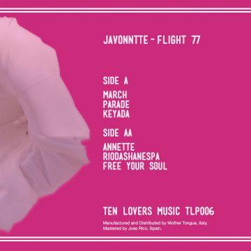 JAVONNTTE FLIGHT 77