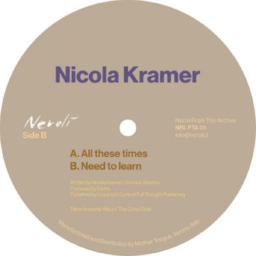 Nicola Kramer All These Times / Need To Learn