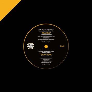 Madre Lingua 7″ vinyl record back cover