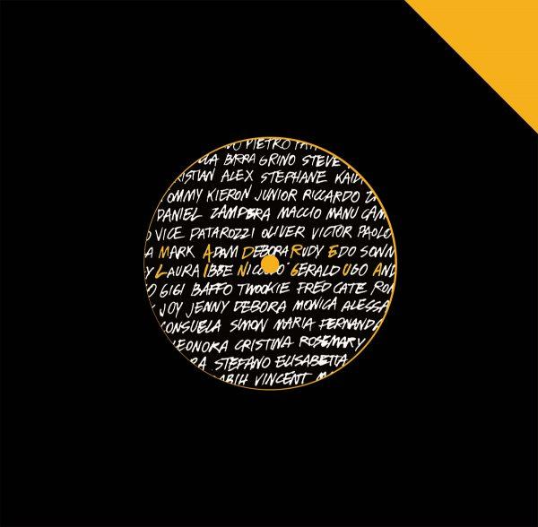Madre Lingua 7″ vinyl record instrumentals sampler version by Tiombé Lockhart, Kaidi Tatham, Patrick Gibin etc