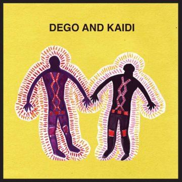 dego & kaidi tatham in ep 2 vinyl record from eglo records