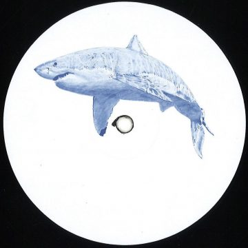 kyle hall the shark ep vinyl record